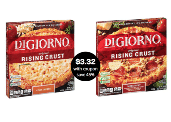 Get DiGiorno Rising Crust Pizza for Just $3.32 Each at Safeway