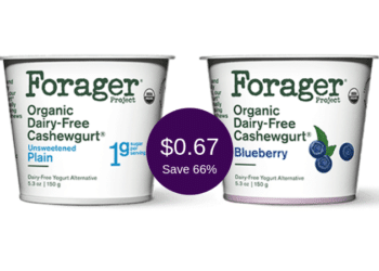 Forager Yogurt for Just $0.67 at Safeway After Coupon & Sale, Save 66% | Dairy-Free