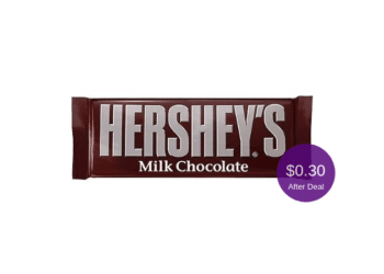 Hershey's Bar for as Low as $0.30 at Safeway