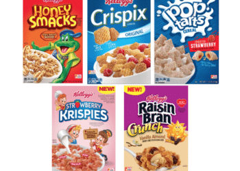 Kellogg's Honey Smacks, Strawberry Krispies, Raisin Bran, Pop-Tarts Cereal and More Just $1.99 at Safeway