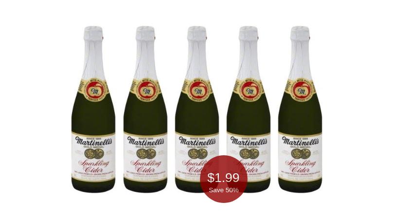 Martinelli S Sparkling Cider On Sale At Safeway 1 99 Per Bottle Save 50 Easily Super Safeway