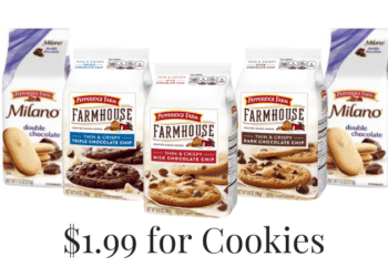 Pepperidge Farm Cookies Coupon at Safeway = $1.99 Each | Save 64% on Sweets