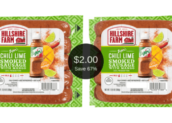 Try NEW Hillshire Farm Tajin Chili Lime Smoked Sausage Links for Just $2.00 at Safeway