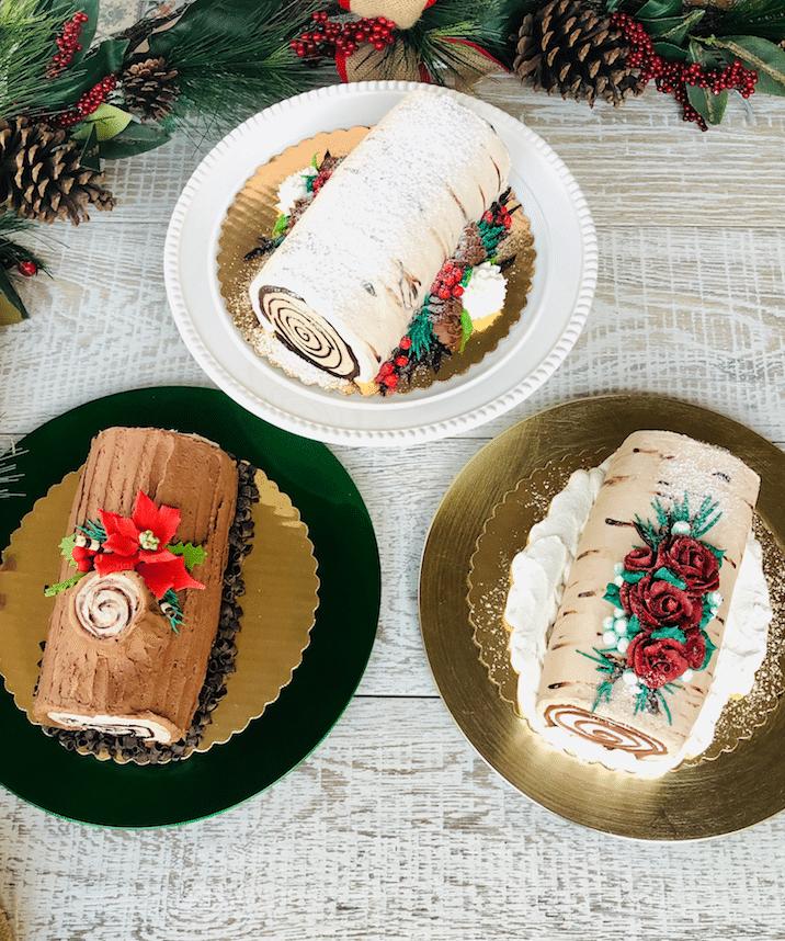 Safeway_holiday_yule_log_Cake_Options