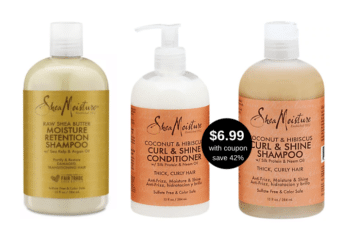 New Shea Moisture Hair Care Coupon and BOGO 50% Off Sale at Safeway