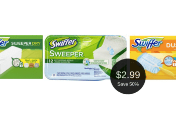 Swiffer Refills on Sale at Safeway, Pay $2.99 After Coupons