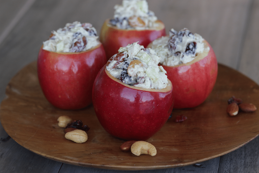 apple_bowls_With_Chicken_Salad