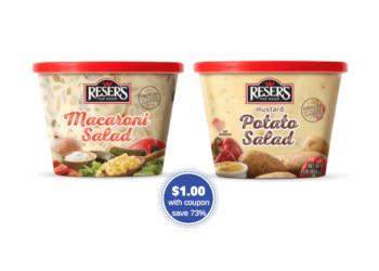 Reser's Potato Salad and Macaroni Salad Just $1.00 With Coupon at Safeway