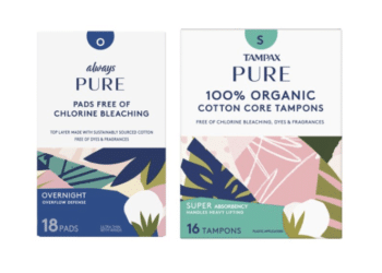 NEW Always Pure Pads and Tampax Pure Organic Tampons – As Low as $3.99 at Safeway
