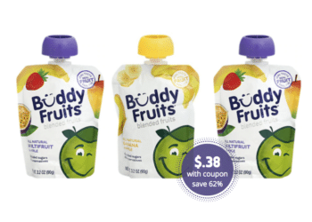 Buddy Fruits Pouches for as Low as $.38 Each at Safeway After the Deal