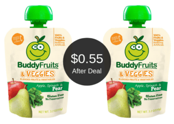 Buddy Fruits Pouches for as Low as $0.55 Each at Safeway After the Deal
