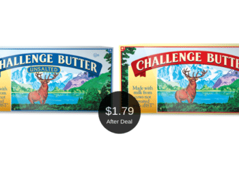 Challenge Butter Deal at Safeway This Week = $1.79 After the Coupons