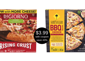 DiGiorno and California Pizza Kitchen Pizzas Just $3.99 With Coupon at Safeway