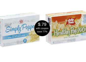 Jolly Time Microwave Popcorn Just $.79 For a 3 Pack at Safeway (Reg. $3.49)
