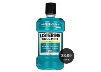 NEW Listerine Coupon is Available = $3.99 at Safeway After the Deal | Save $3