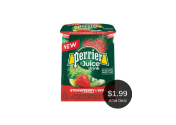 NEW Perrier & Juice Drink 4 Packs Available at Safeway = $1.99 After the Coupon & Sale