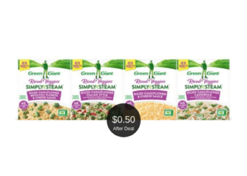 HOT Green Giant Riced Veggies Simply Steam Deal at Safeway, Pay $0.50 After the Deal | Save 75%