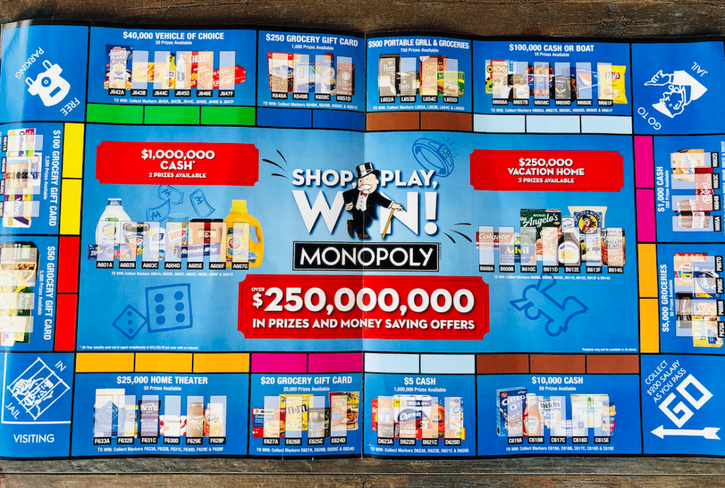 Safeway_monopoly_Game_board_2020