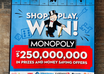 How to Shop, Play, & Win Monopoly at Safeway