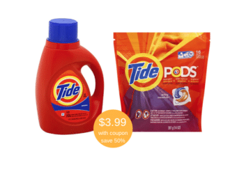 Tide Laundry Detergent and Tide PODS Just $3.99 at Safeway