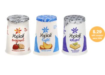 Yoplait Yogurt Coupon and Sale, Pay Just $.29at Safeway