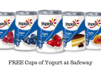 🔥HOT🔥 Yoplait Yogurt Deal at Safeway = FREE Cups After the Smokin' Offer
