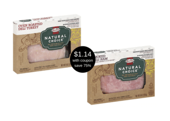 New Hormel Natural Choice Deli Meat Coupon and Sale, Pay Just $1.14 at Safeway