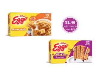 Eggo Waffles, Pancakes & French Toast as Low as $1.46 at Safeway