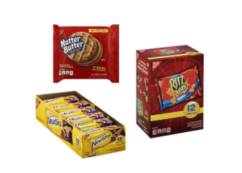 $1.24 Nutter Butter Cookies and $3.24 Nabisco Multi-packs 12 ct. at Safeway