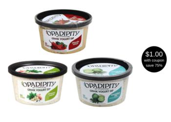 Opadipity Greek Yogurt Dip by Litehouse Just $1.00 at Safeway (Reg. $3.99)