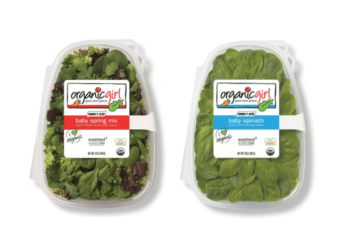 organicgirl Family Size Spinach or Baby Spring Mix Salads Just $3.99 at Safeway