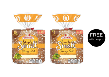 FREE Oroweat Simply Small Honey Oat Bread at Safeway