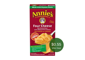 Annie's Homegrown Mac & Cheese on Sale at Safeway = Only $0.55 Each After Coupon | Save 72%