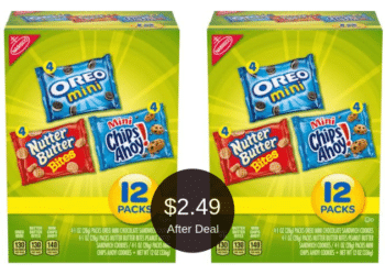 Save up to $4.00 on Nabisco Cookies Multipack & Family Size at Safeway, Only $2.49 After the Deal