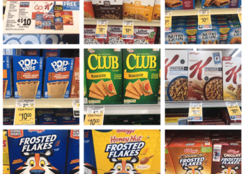 Free Apple Juice With Kellogg's, Special K, Keebler or Kashi Cereal and Snacks Purchase at Safeway