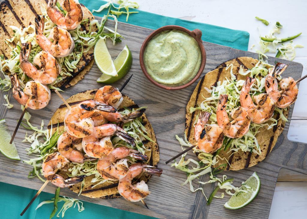 Shrimp_Taco_With_Creamy_Avocado_Dressing