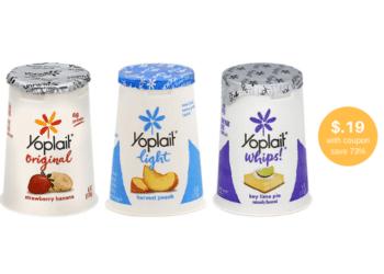 Yoplait Yogurt Coupon and Sale, Pay Just $.19at Safeway