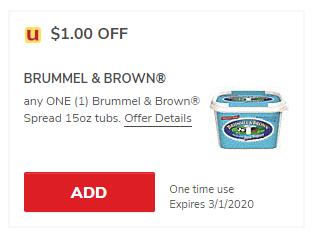 Brummel Brown Buttery Yogurt Spread Just 1 49 With Coupon At Safeway Super Safeway