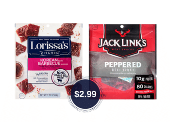 Lorissa's Kitchen or Jack Link's Jerky Coupon & Sale Just $2.99 at Safeway
