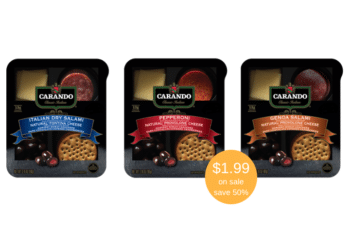 NEW Carando Classic Italian Grab N Go Meat & Cheese Snacks Just $1.99 at Safeway