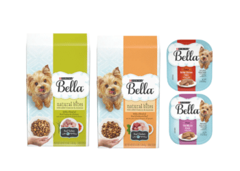 New $3/1 Purina Bella Dog Food Coupons – Pay Just $2.49 a Bag at Safeway, Wet Food Tubs Just $.30