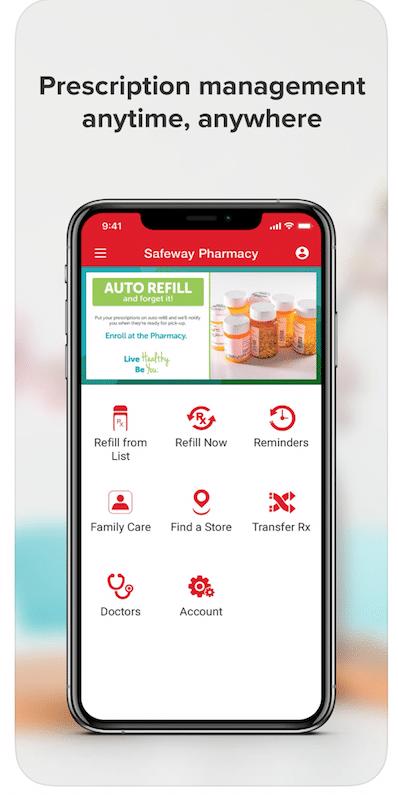 Safeway_Pharmacy_App