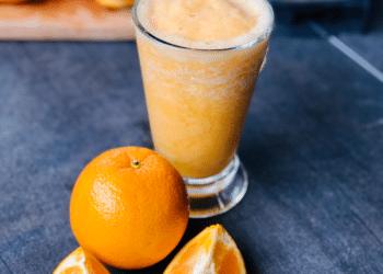Immunity Boosting Fresh Orange Smoothie (Orange Julius Copycat)