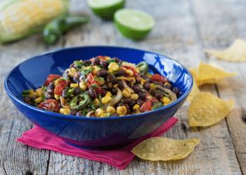 Black Bean & Roasted Corn Salsa