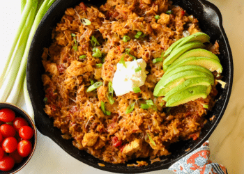 Skillet Mexican Chicken and Rice Meal