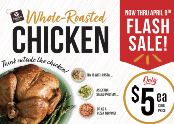 $5 Rotisserie Chicken at Safeway Plus 15 Ways to Use Roasted Chicken For Meal Prep