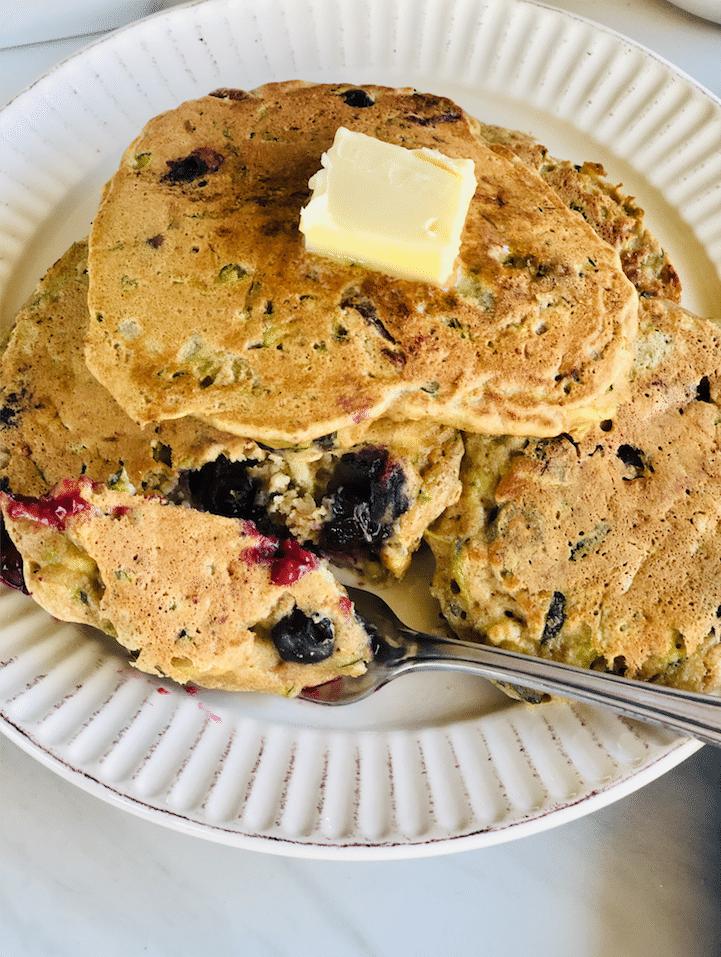 Blueberry_Zucchini_bread_Pancakes_recipe