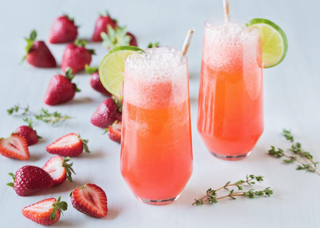 Fizzy_Strawberry_mocktail