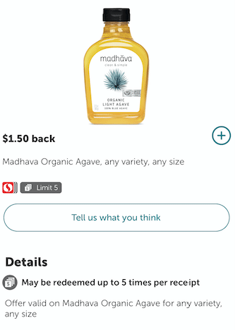 Madhava_Agave-Coupon