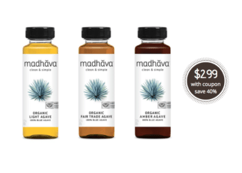 Madhava Organic Agave Nectar Just $2.99 With Coupon at Safeway